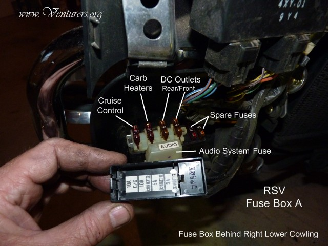 FuseBox2 the venturers yamaha venture technical support library Vulcan 750 Wiring Diagram at webbmarketing.co