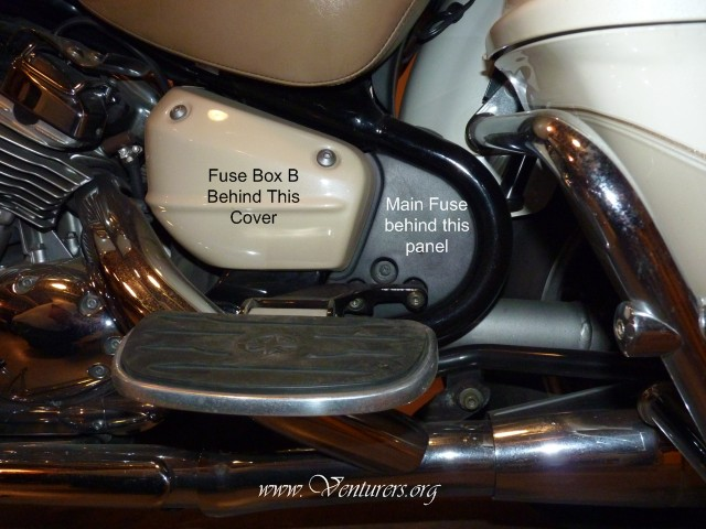 FuseBoxLocations the venturers yamaha venture technical support library on motorcycle fuse box location