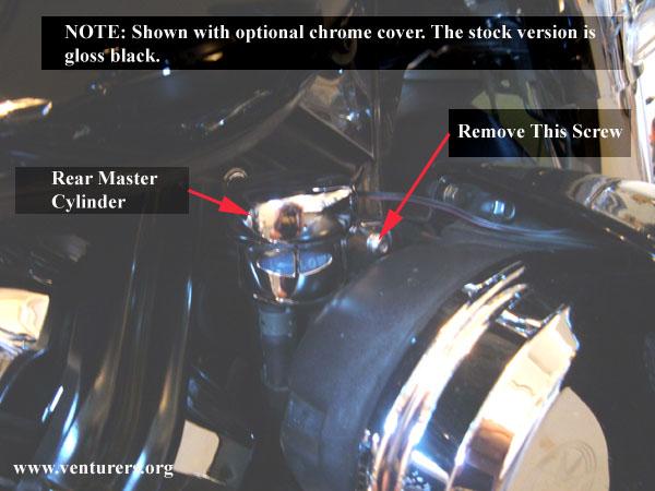 Yamaha Venture Rear Master Cylinder